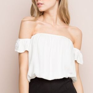 White Beccah Top